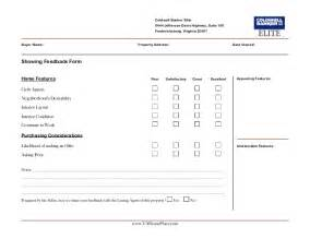 real estate listing sheet template matthew rathbun showing feedback form
