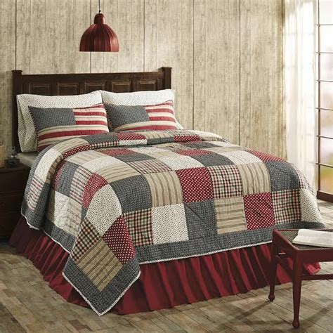 King Size Quilt And Shams by Victory Americana King Size 3 Pc Quilt Set 100 Cotton