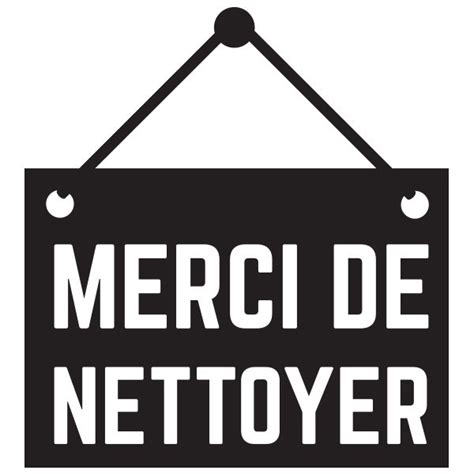 stickers merci de nettoyer stickmywall