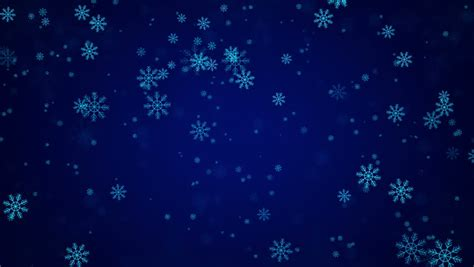 Blue Snowflake Background by Snowflakes And New Year S The