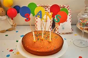 Gateau Anniversaire 2 Ans : anniversaire 3 ans leblogdecrouchette ~ Farleysfitness.com Idées de Décoration