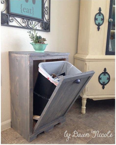 acheter poubelle cuisine diy dissimuler la poubelle floriane lemarié