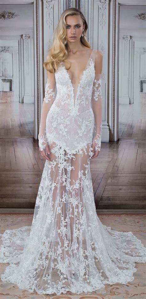 lace fit and flare dress pnina tornai 2017 quot quot bridal collection of bridal