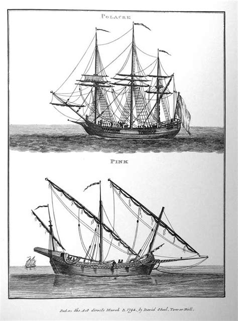 Settee Ship by Description Of Foreign Vessels Historic Naval Ships