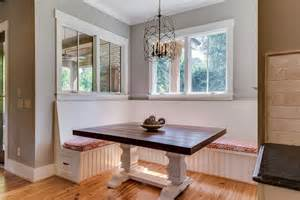 Breakfast Nook Benches by Corner Banquette Bench Kitchen Farmhouse With Antique