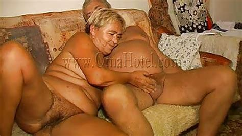 Heidrun In Old People Have Couch Sex Too From Old Nanny Oma Hotel