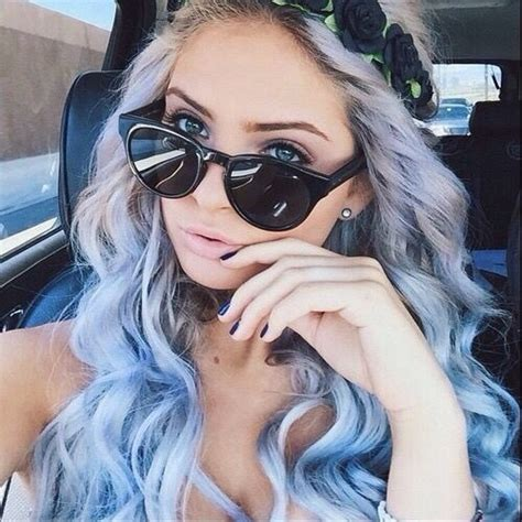 Colored Hair On Tumblr