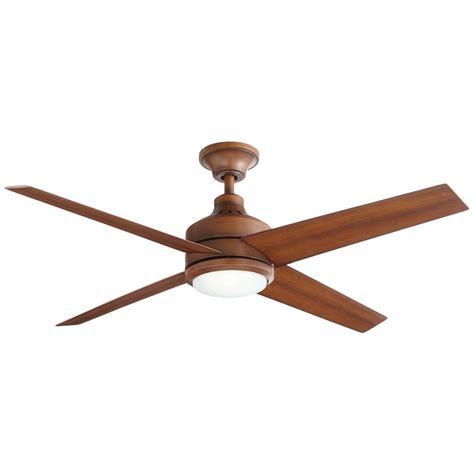home depot ceiling fans with remote home decorators collection mercer 52 in led indoor