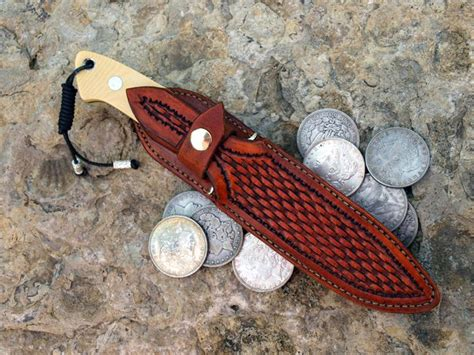 125 Best Images About Leather Knife Sheaths On Pinterest