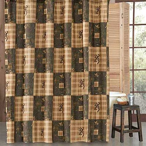 country shower curtain browning country shower curtain blanket warehouse