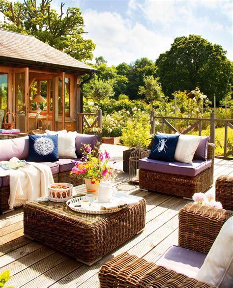 cojines para sofa de terraza terrazas muebles mesas e ideas para tu terraza el mueble