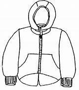 Coloring Coat Winter Clothes Clothing Warm Season Jacket Shirt Pages Drawing Protect Printable Tshirt Coats Sheet Sheets Getcolorings African Tee sketch template