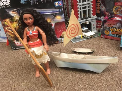 Moana On Boat Song by Disney Moana At The Disney Store Review By Con And Bex