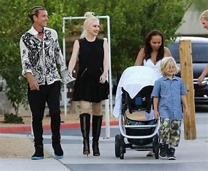 Gavin Rossdale in Gwen Stefani & Family Attend A Friends ...