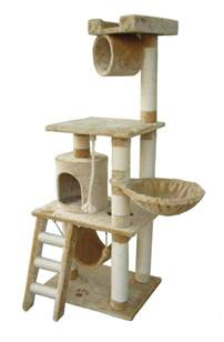 cat condo unique 62 quot cat tree condo scratching post kitty home
