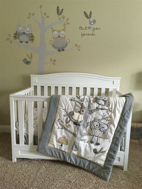 owl bedding crib when preparing owl nursery decor nursery ideas