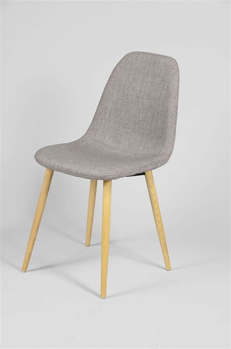 chaise gris clair chaise baquet bois et tissu gris clair ou bleu fonc zephir