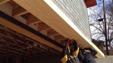 building  roof   garage door youtube