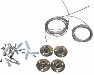 Cable Pour Suspension : c bles de suspension pour panneaux led myplanetled ~ Teatrodelosmanantiales.com Idées de Décoration