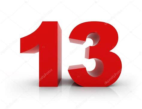 Number 13 — Stock Photo © Morenina #66714443