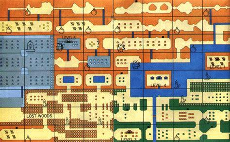 Zelda NES Map | Mungfali