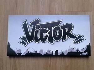 Toile Street Art : tableau graff street art toile d coration murale graffiti tag ~ Teatrodelosmanantiales.com Idées de Décoration