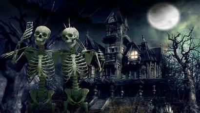 Spooky Desktop Halloween Scary Haunted Wallpapers Backgrounds