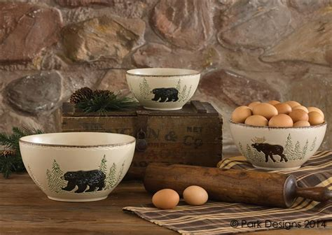 rustic retreat dinnerware park designs