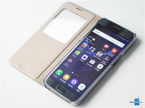 Cover Samsung Galaxy 2 Sview samsung galaxy s7 s view cover review the classic recipe