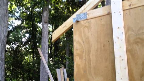 Building A Shed R by Building A 10x12 Shed Part 10 Trusses