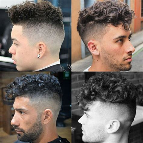 curly hair undercut mens hairstyles haircuts