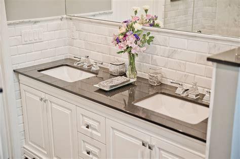 beveled marble subway tile design build pros