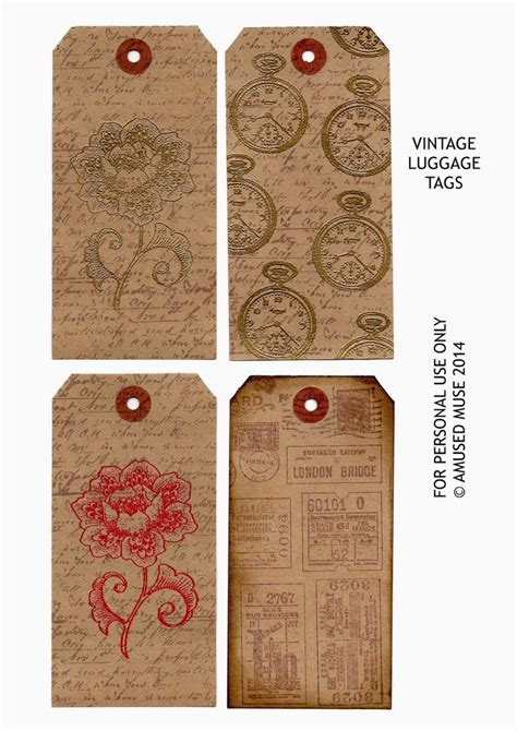 Airline Luggage Tag Template Images Template Design Ideas Printable Vintage Luggage Tags Www Pixshark Images