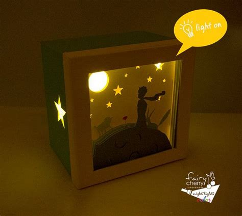 little night lights the little prince night light nursery decor unique