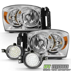 2007 2008 dodge ram 1500 2500 3500 service manual and repair car service manuals 2007 2008 dodge ram 1500 2500 3500 headlights 32 led fog lights ls w switch ebay