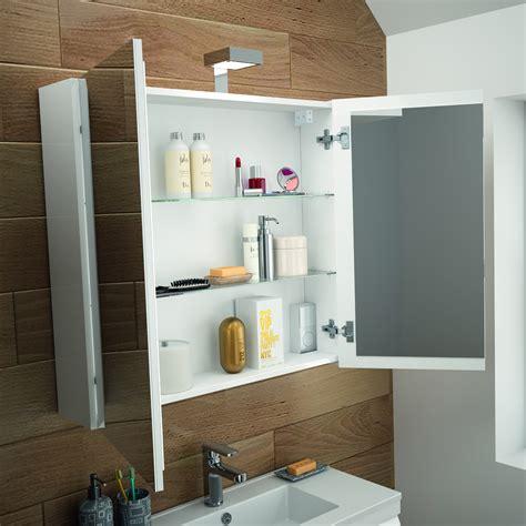 Allibert Bathroom Cabinets by Allibert Mirror Cabinet Bath Furniture Pre Assembled White