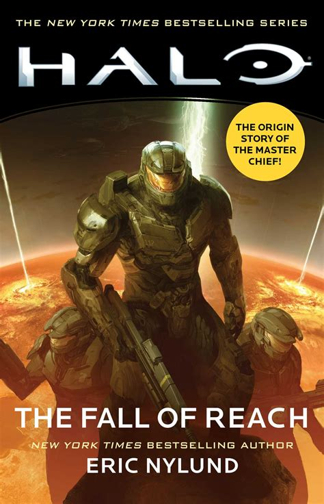 halo  fall  reach book  eric nylund official