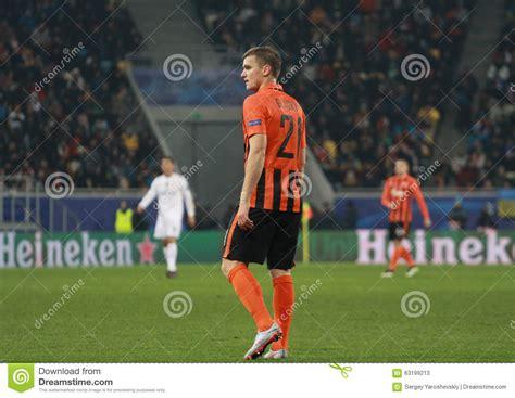 Este partido se jugará el martes 1 de diciembre en el estadio olímpico de kiev a partir de las 12.55 p. Aleksandr Gladkiy Of Shakhtar Donetsk Editorial Stock ...