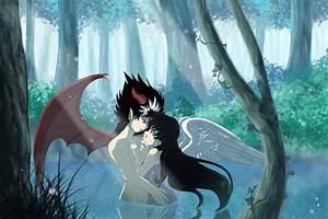 Angel and Devil by MikaRabidKitsune on DeviantArt