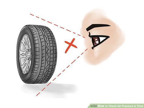 How To Check Air Pressure In Tires