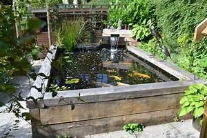 Koi Fish Pond Ideas Fish Pond Ideas:amusing Garden With