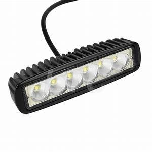 Set of black spreader led deck marine lights for boat