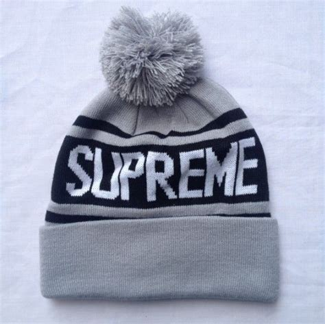 Letter Ribbed Beanie supreme ribbed beanie knit hats grey 0319768 only 7