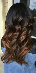 Ombré Hair Chatain : ombre hair marron caramel la grosse tendance suivre ~ Nature-et-papiers.com Idées de Décoration