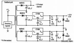 Efficient Negative Voltage Regulator