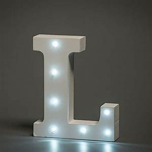 cheap white led wooden letter l lights sign 6 inch led With wooden letters with lights