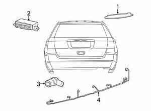 Volkswagen Routan Parking Aid System Wiring Harness