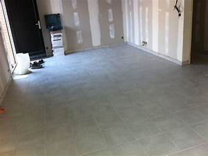carrelage joint fin plancher chauffant With sol chauffant carrelage
