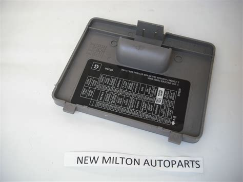 Nissan Fuse Box Cover by Nissan Primera P11 1996 2002 Interior Dash Fuse Box Cover