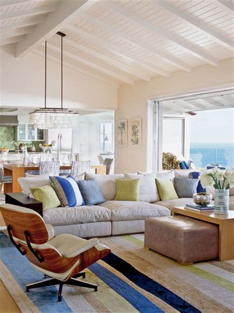 Vaulted Beamed Ceiling   Laguna Beach Living